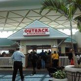 Outback Steakhouse Orlando Airport  Delta Terminal